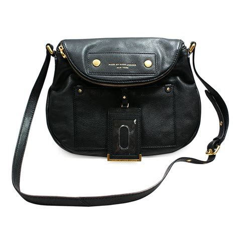 purse organizer for marc by marc black leather swing cross bag