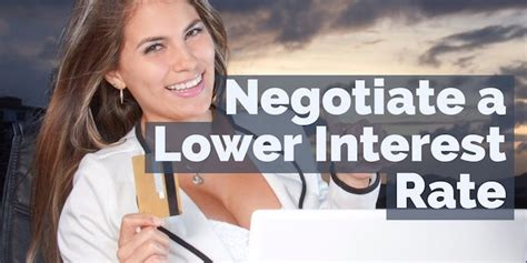 Owe more than $20k ? How to Negotiate a Lower Credit Card Interest Rate | Credit card interest, Interest rates ...
