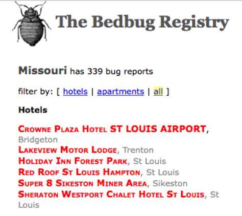Bed Bug Registry by The Bed Bug Registry