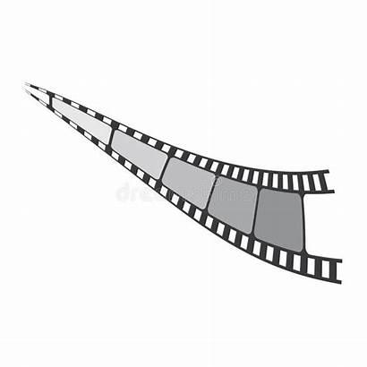 Filmstrip Icon Mm Illustrations Vectors