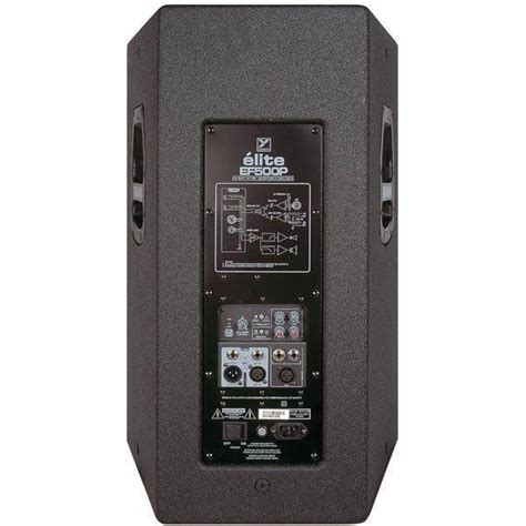 Yorkville Cabinets by Yorkville Sound Elite Series Powered Speaker 15 Inch 2