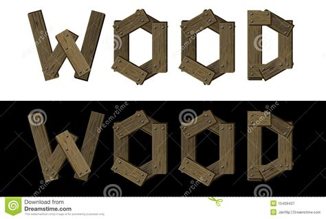 stock photo wooden font word wood image