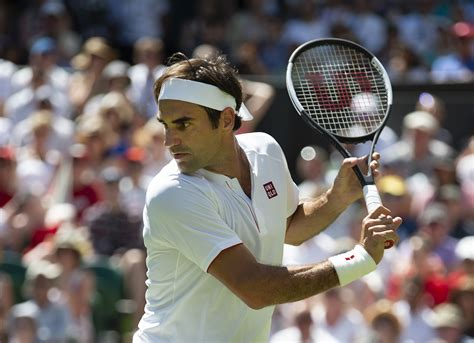 roger federer wears uniqlo to wimbledon and ditches nike fortune