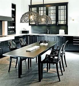 Küche Eiche Massiv : l form k che casa eiche massiv schwarz mit essgruppe ~ Markanthonyermac.com Haus und Dekorationen