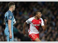 Monaco wunderkind Kylian Mbappe tormented Man City [Tweets]