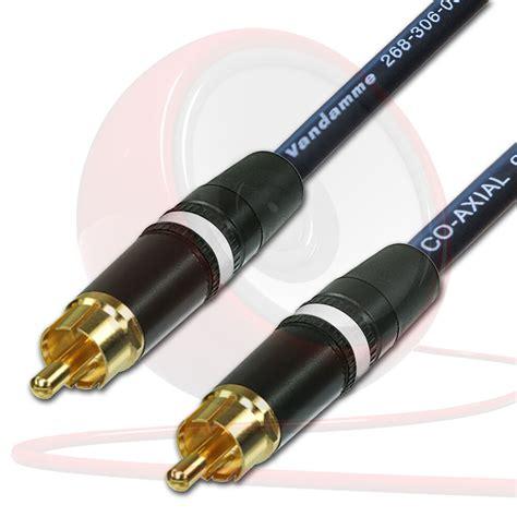 spdif digital audio video coaxial cable rca  rca van
