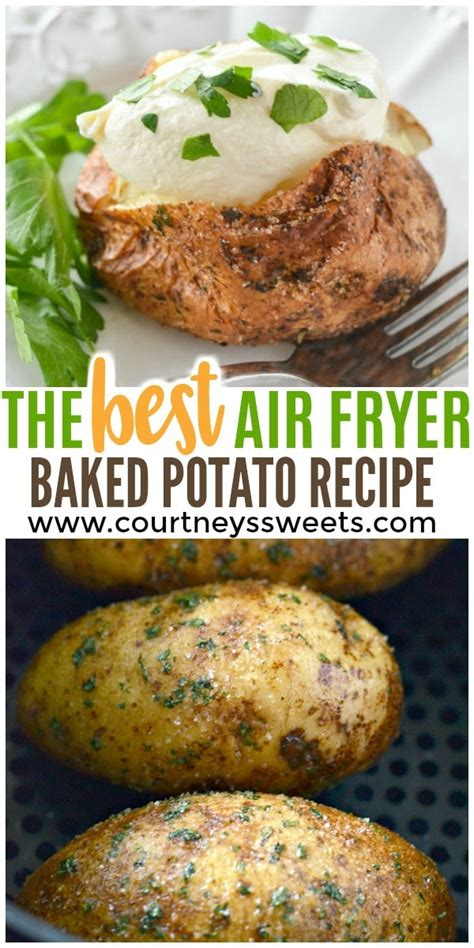 fryer baked air potatoes potato garlic parsley recipes recipe turkey salt thighs making airfryer courtneyssweets covered rub fry oven courtney