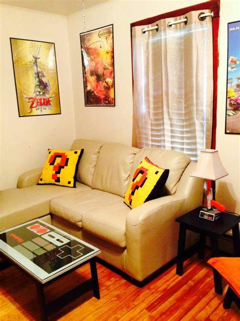 Nintendo Themed Room Game Room Ideas And Inspiration