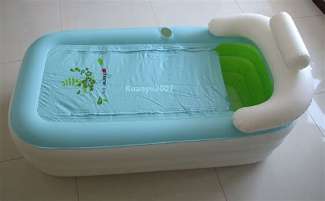 portable bath tub new folding portable spa pvc bathtub