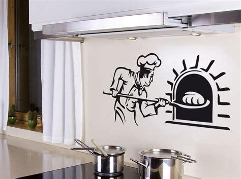 destock cuisine stickers boulanger au fournil deco cuisine destock