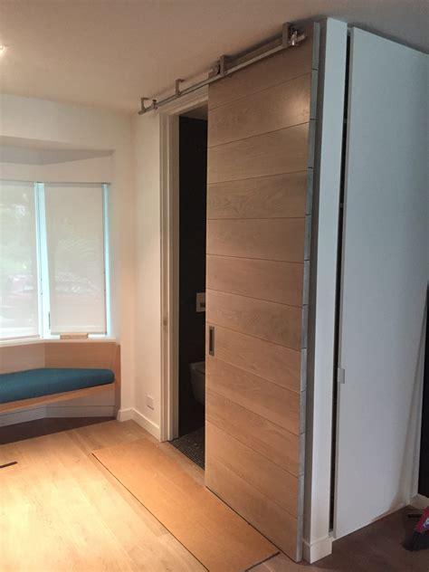 mahogany solid wood interior barn door