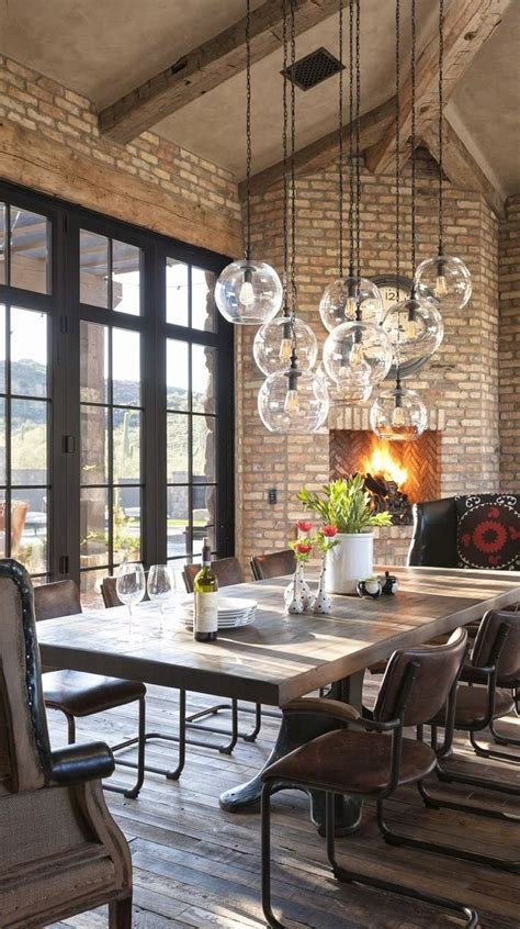 Its spacious table top sports a gray finish with subtle distressing for. Small Rustic Dining Room Unique Rustic Eclectic Dining Room Design Id… in 2020 | Dining room ...