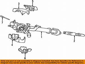 2001 Dodge Ram 1500 Van Base V8 5 2 Steering Column