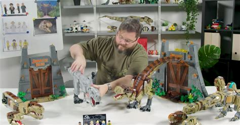 brickfinder lego jurassic park  rex rampage