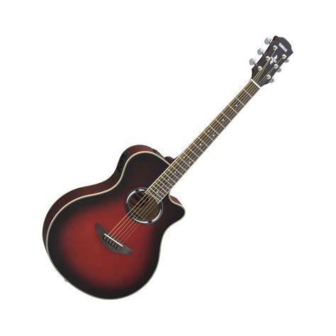 guitar colors yamaha apx500iii acoustic electric guitar 5 colors
