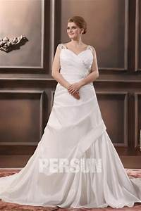 robe de mariee grande taille en taffetas ruchee lacage With robe de mariée avec achat bijoux or