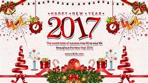 Happy New Year 2017 HD Wallpaper 11365 - Baltana