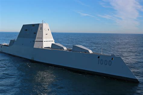 Navy's Futuristic Destroyer is Apparently Too Stealthy ...