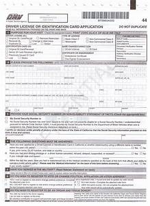 13 best photos of form dl 44 print out printable dl 44 With dmv documents california