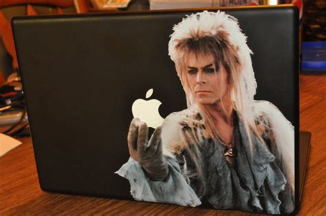 David Bowie Labyrinth Meme - 7 macbook covers to impress the cute girl at the coffeeshop