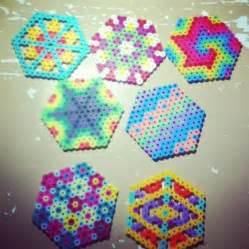 Perler Bead Hexagon Patterns