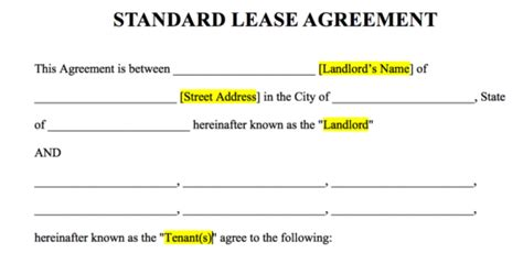 letter table rental nyc free rental lease agreement templates word pdf
