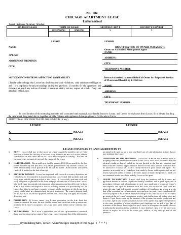 Apartment Lease Chicago by Lease Application Std Ask Nagel