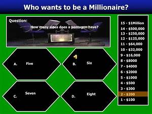 who wants to be a millionaire powerpoint game template 100 With who wants to be a millionaire powerpoint game template