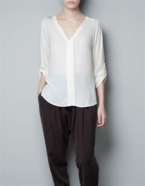 zara white blouse zara white blouse black dressy blouses