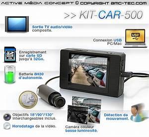 Camera De Surveillance Pour Voiture : video surveillance voiture goulotte protection cable exterieur ~ Medecine-chirurgie-esthetiques.com Avis de Voitures