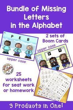 missing letter worksheets images preschool