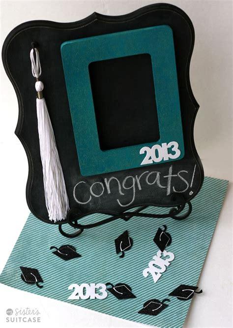 diy graduation gift chalkboard tassel frame diy