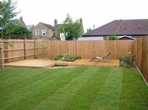 small garden decking ideas pdf