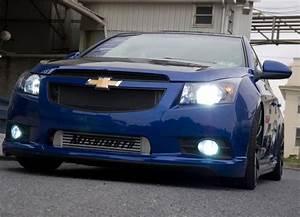 2010-2015 Chevrolet Cruze Black Wrinkle Front Grilles ...