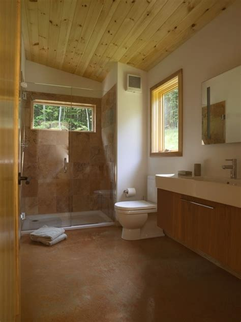 Modern Cabin   Contemporary   Bathroom   Burlington   by