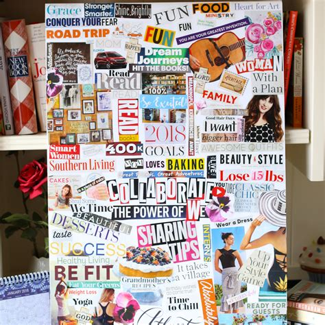 vision board how to create a vision board in 5 easy steps baking
