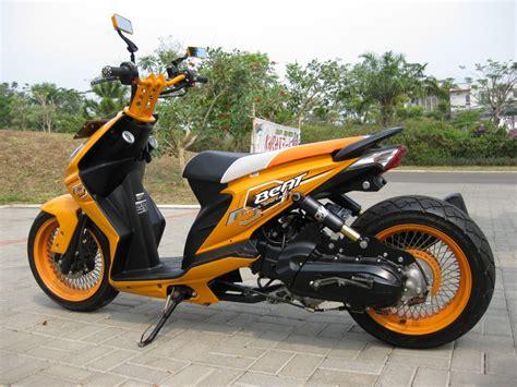 Honda Beat Modif by Gambar Modifikasi Honda Beat Motor Id