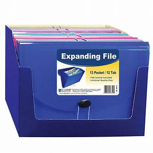 13 pocket letter size expanding file 1 file color may for Expanding wallet letter size