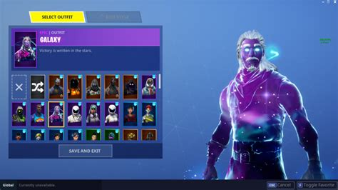 fortnite players  unlocking rare galaxy skin