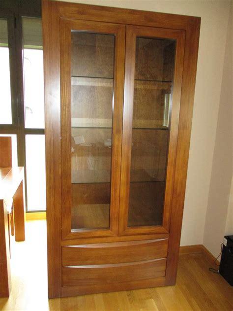 salones bpa vitrina madera maciza  el salon comedor