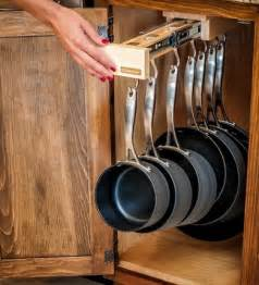 kitchen storage ideas for pots and pans 28 easy diy kitchen storage ideas browzer