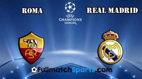 FULL MATCH Champions League AS Roma vs Real Madrid 2016