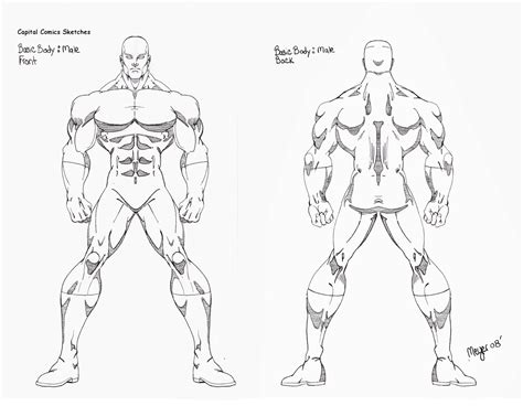 Human Body Drawing Outline At Getdrawings.com