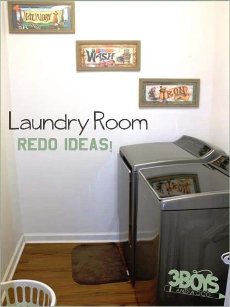 Redo Your Room by How To Redo Your Laundry Room 3 Boys And A