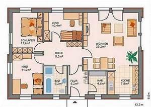 Grundrisse Für Bungalows 4 Zimmer : bungalow 4 zimmer grundriss ~ Sanjose-hotels-ca.com Haus und Dekorationen