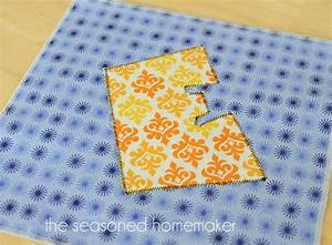 learn how to applique using a sewing machine the With machine to cut fabric letters