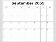 November 2055 Calendar Template