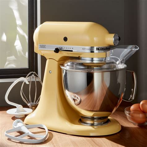 kitchenaid artisan majestic yellow stand mixer reviews