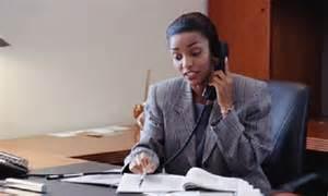 Black Woman Office Worker
