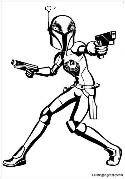 star wars rebels malvorlagen coloring page  coloring pages
